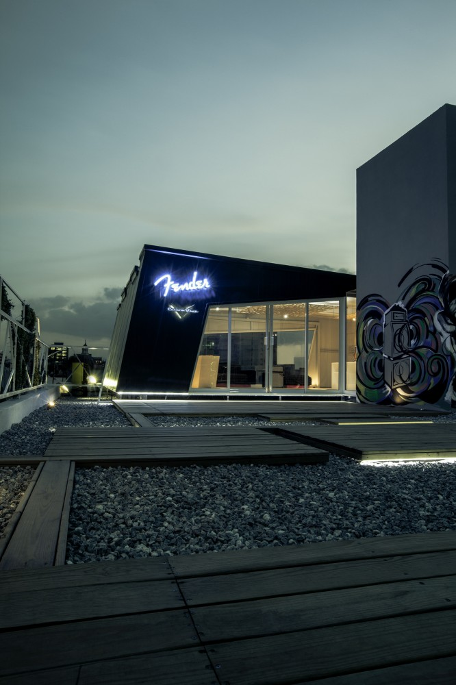 Fender Custom Shop Mexico City / Arquitectura en Movimiento