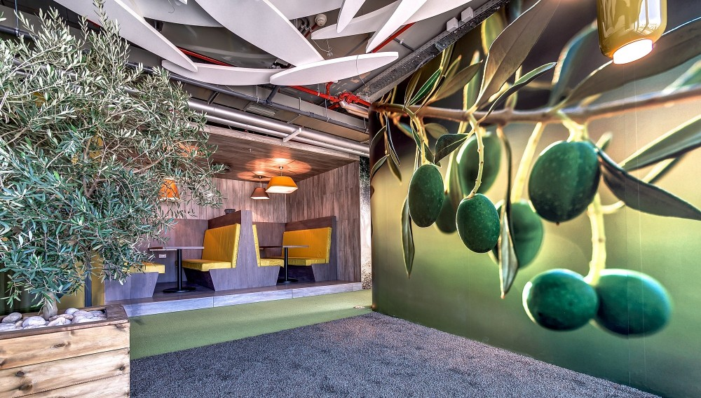 Google Tel Aviv Office / Camenzind Evolution