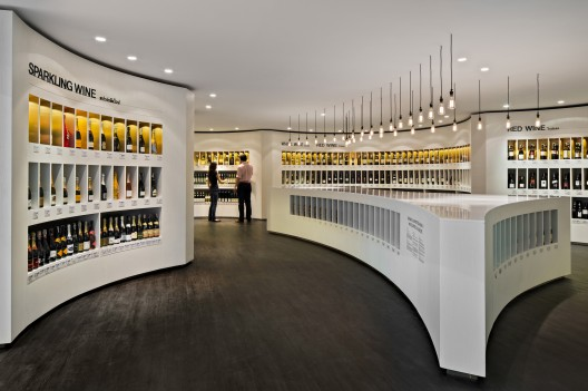 Diageo Concept Store / Fourfoursixsix Courtesy of Fourfoursixsix