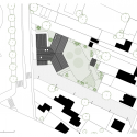 Les Coccinelles Nursery School / SOA Architectes Site Plan