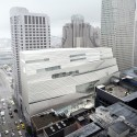 Update: SFMOMA Expansion / Snøhetta SFMOMA Expansion Aerial Southeast Façade; Courtesy of MIR and Snøhetta