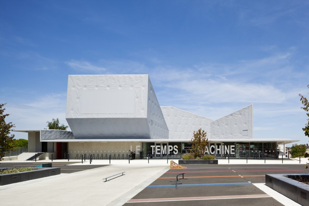 Le Temps Machine / Moussafir Architectes Associés