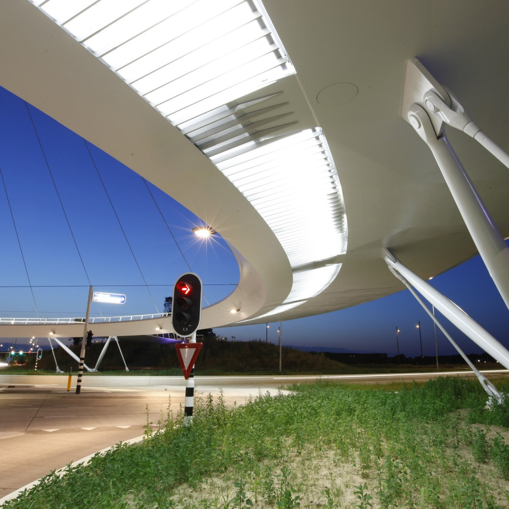 Hovenring, Circular Cycle Bridge / ipv Delft