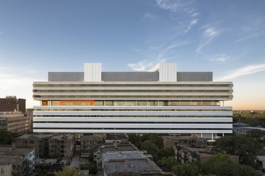 Center for Care and Discovery, University of Chicago Medicine / Rafael Viñoly Architects © Tom Rossiter