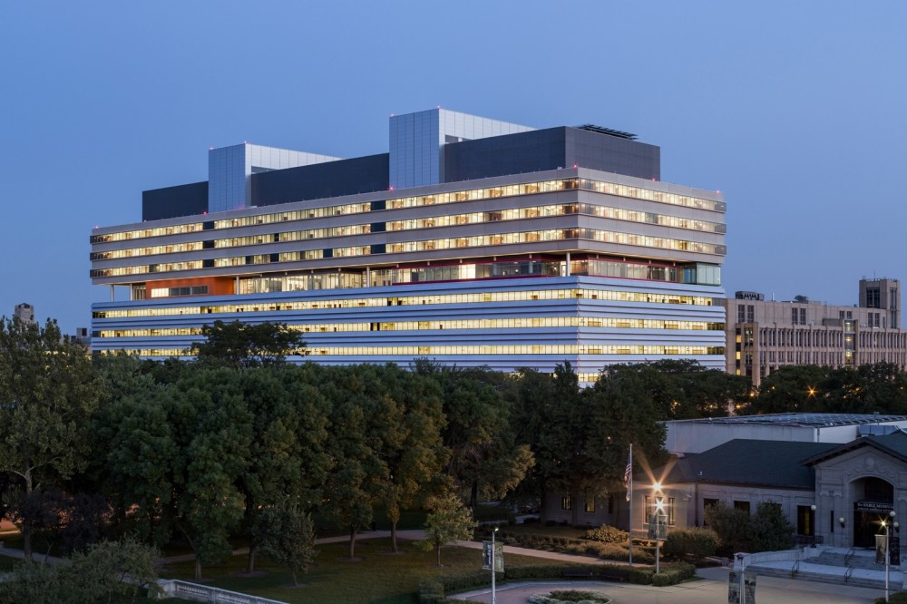 Center for Care and Discovery, University of Chicago Medicine / Rafael Viñoly Architects