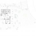 Lodge en Niveles / Naoi Architecture & Design Office Plan Level 01
