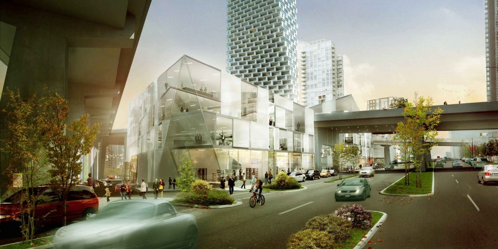 City Design Panel Endorses BIGs Mixed-Use Vancouver Tower