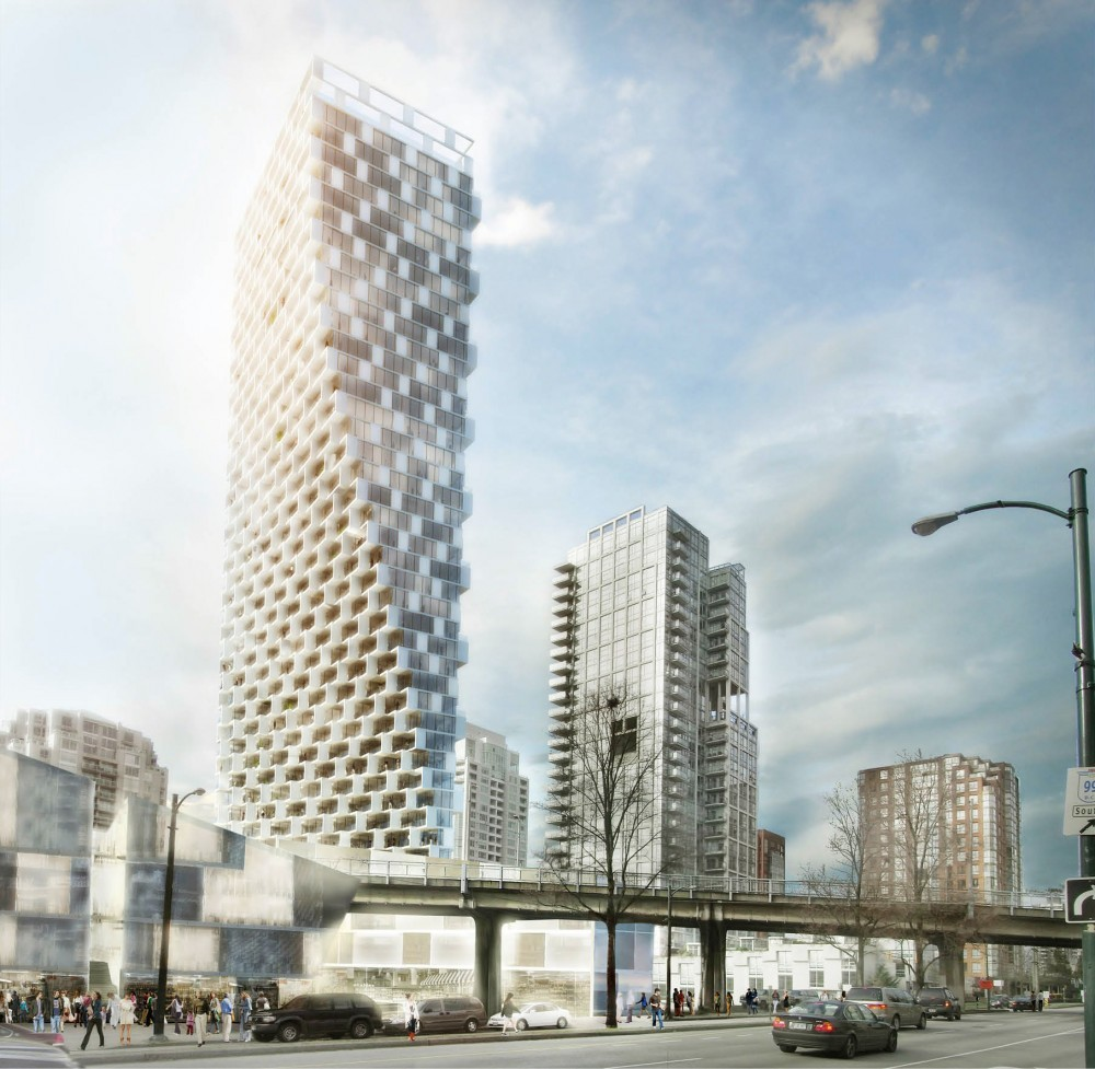 City Design Panel Endorses BIG's Mixed-Use Vancouver Tower