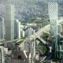 City Design Panel Endorses BIGs Mixed-Use Vancouver Tower Courtesy of BIG