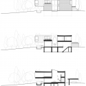 Cedarvale Ravine House / Elevation + Sections