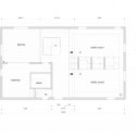 RIBBON / Komada Architects&#039; Office Second Floor Plan