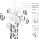Filament Mind Installation / E/B Office assembly diagram