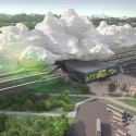'Under the Cloud' Railway Station Proposal / Arthur Kupreychuk Courtesy of Arthur Kupreychuk