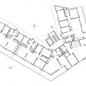 Urban Housing Winning Proposal /  ETAT Architects + Spridd Architects third floor plan