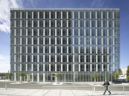 City Green Court / Richard Meier & Partners © Roland Halbe