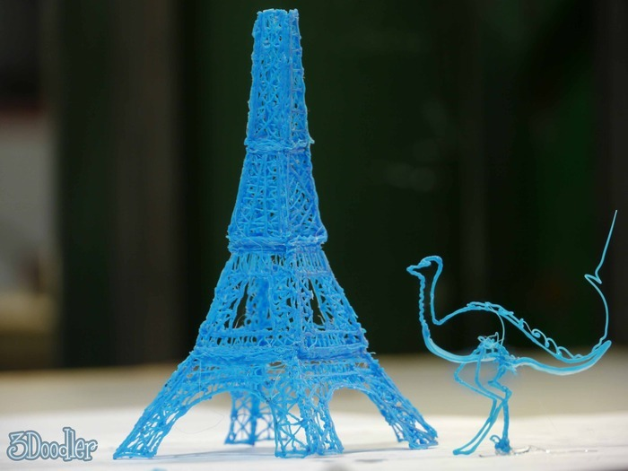 3D Printing Pen Turns Sketches Into Reality In Seconds
