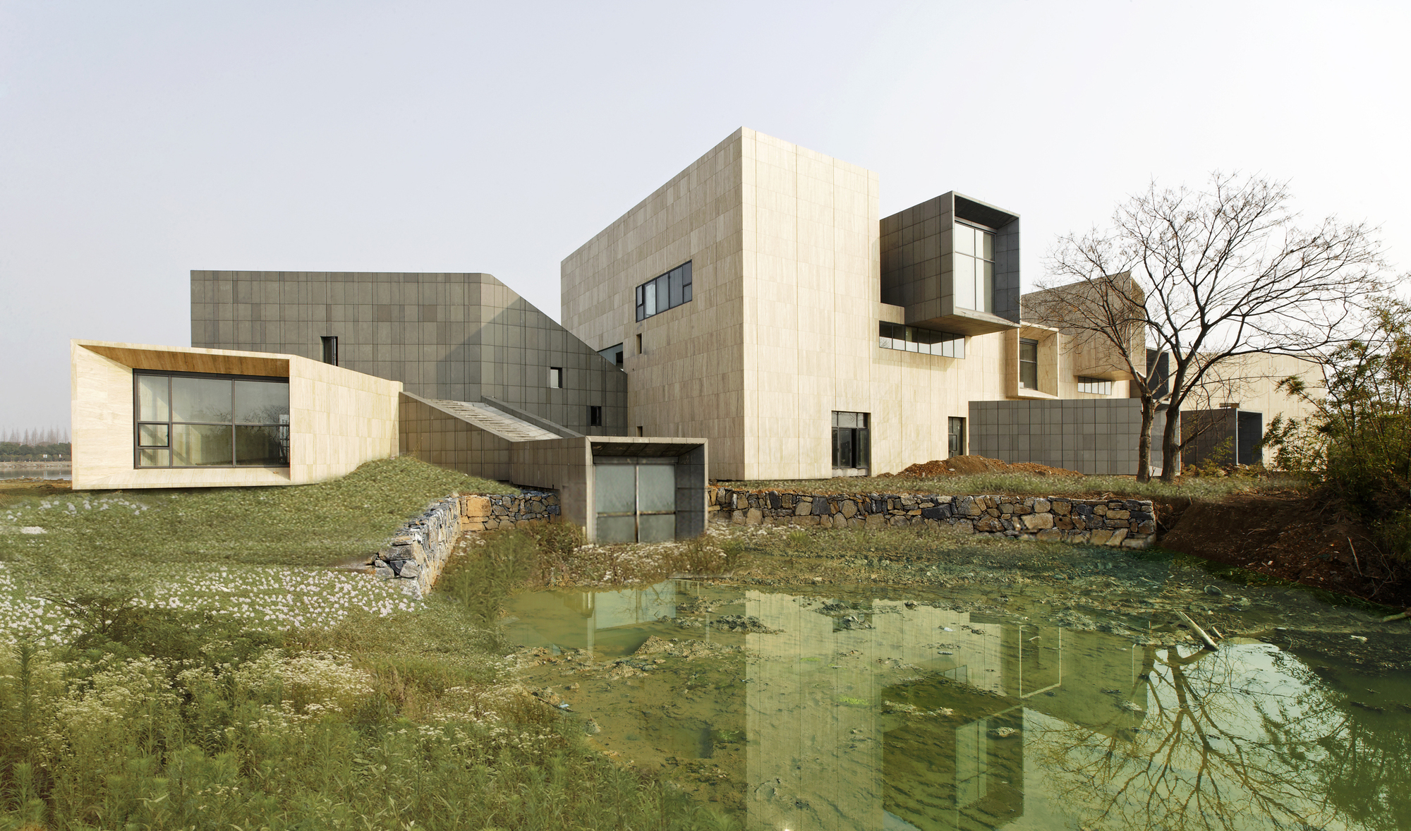 Gallery xixi wetland art village wang weijen for Art architectural