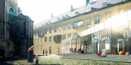 Cambrai cultural laboratory competition entry caau for Architecte cambrai