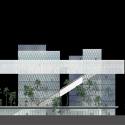 Hong Kong Institute of Design / CAAU Elevation