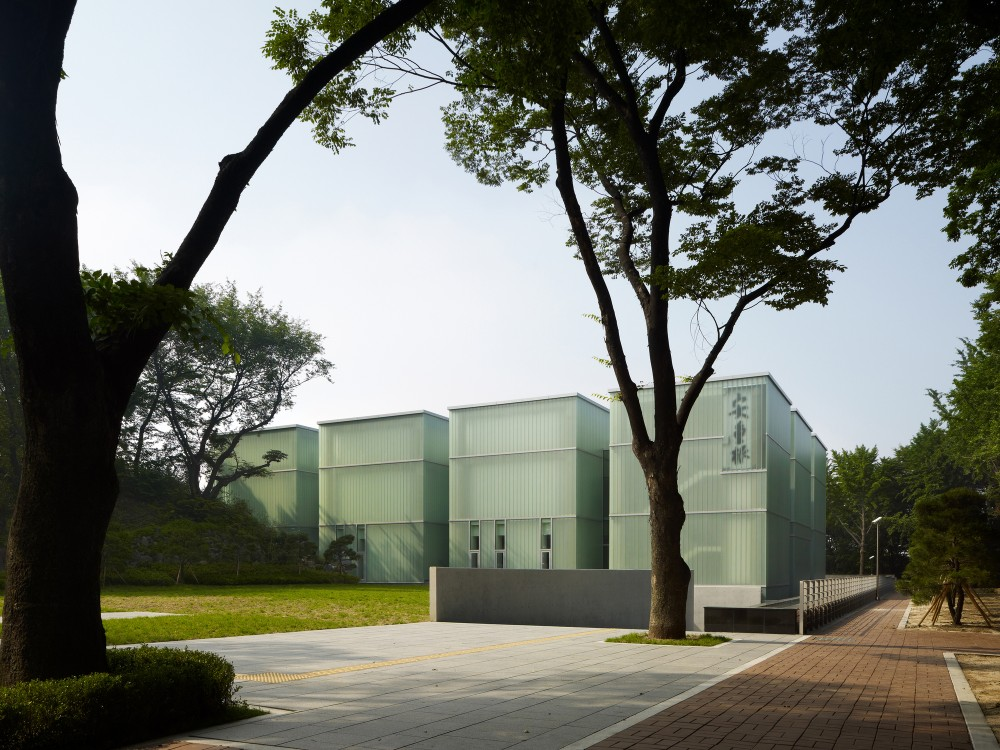 Ahn Jung-geun Memorial Hall  / D·Lim Architects