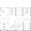 IT Park Proposal  / ZA Architects co-working floor plan