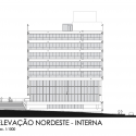 Tribunal Regional do Trabalho / Corsi Hirano Arquitetos + R. Nishimura Interior North-East Elevation