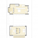 City House / Architex Upper Floor Plan