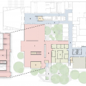 UT Visual Arts Center / Lake|Flato Architects Site Plan