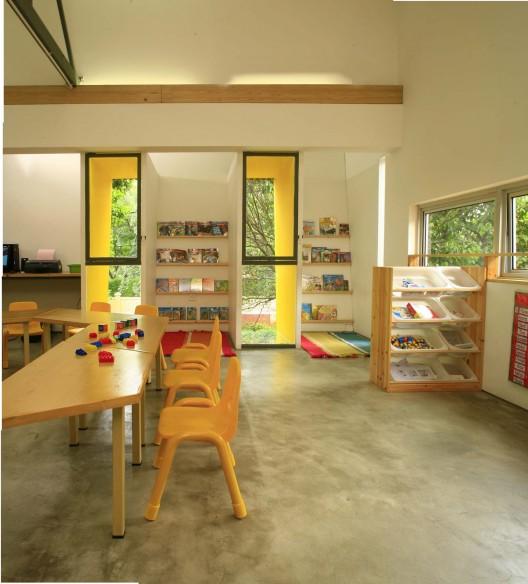 Modern Classroom Model ~ Shining stars kindergarten bintaro djuhara