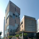 Hong Kong Polytechnic University Community College / Wang Weijen Architecture+Architecture Design and Research Group+AGC Design Courtesy of Wang Weijen Architecture