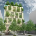 Trees Building for ABBANK Proposal / Vo Trong Nghia Architects Courtesy of Vo Trong Nghia Architects