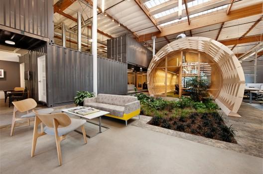 دفتر معماری ، طراحی دفتر گروه کانینگام ، طراحی داخلی دفتر معماری ، cuningham