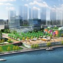 Xin Hua Pudong Waterfront Development Winning Proposal / Inbo + NITA Courtesy of Inbo + NITA