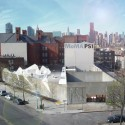 'White Noise' YAP MoMA PS1 Proposal / French 2Design Courtesy of French 2Design