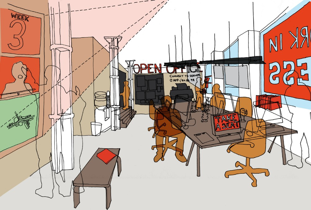 The Architecture Foundation and We Made That Launch &#8220;The Open Office&#8221;