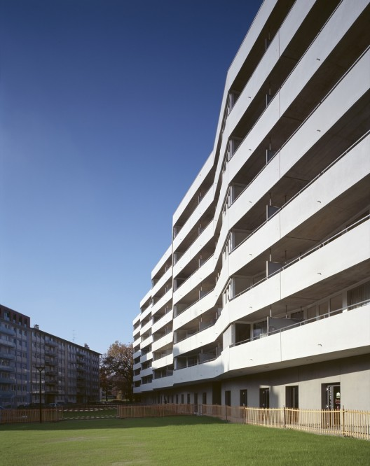 120 affordable appartments / meier + associés architectes  + Burckhardt Partner © Jean-Michel Landecy