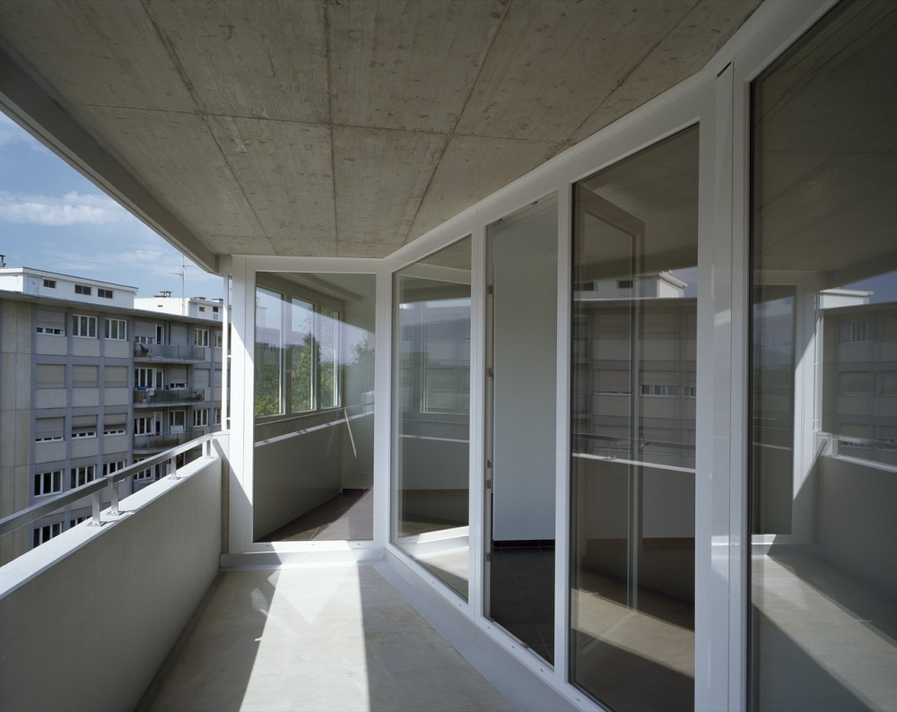 120 affordable appartments / meier + associs architectes  + Burckhardt Partner