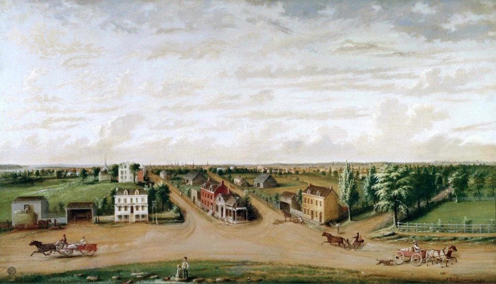 NYCs Union Square in 1828
