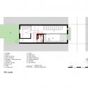 4.5x20 House / AHL architects associates Plan 04