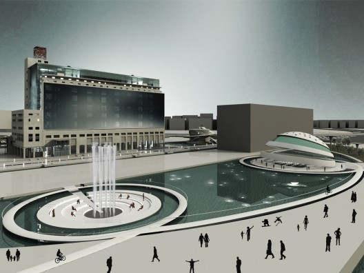 Piraeus Underwater Antiquities Museum Competition Entry