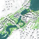 Future Floda Winning Proposal / Mandaworks + Hosper Sweden site plan
