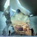Lascaux IV: Cave Centro Internacional de Pintura Ganar propuesta / Casson Mann + Cortesía Snohetta de Casson Mann