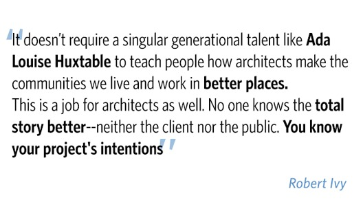 Architects of the 21st Century: Speak Up, Speak Out
