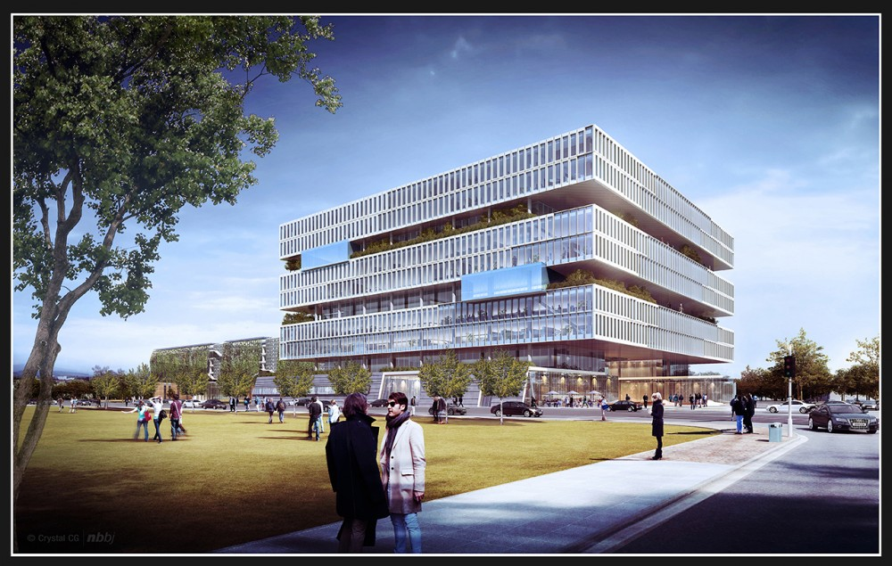 NBBJ Reveals Plans to Extend Samsung's Silicon Valley Headquarters