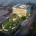 NBBJ&#039;s Samsung Headquarters Addition to Silicon Valley&#039;s Architectural Transformation Samsung Headquarters / NBBJ