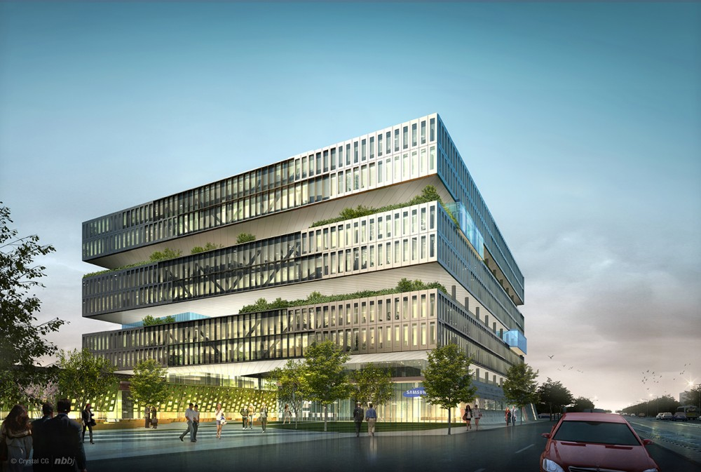 NBBJ Reveals Plans to Extend Samsung&#8217;s Silicon Valley Headquarters