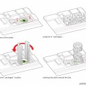 'Back2rots' Research Center Competition Entry / Andrea Vattovani Architecture diagram 03