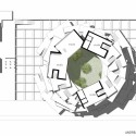 'Back2rots' Research Center Competition Entry / Andrea Vattovani Architecture 10th floor plan