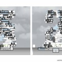 'Back2rots' Research Center Competition Entry / Andrea Vattovani Architecture sections