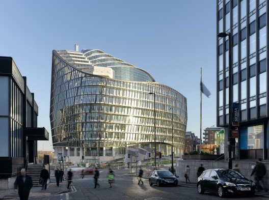 1 Angel Square / 3D Reid  Daniel Hopkinson